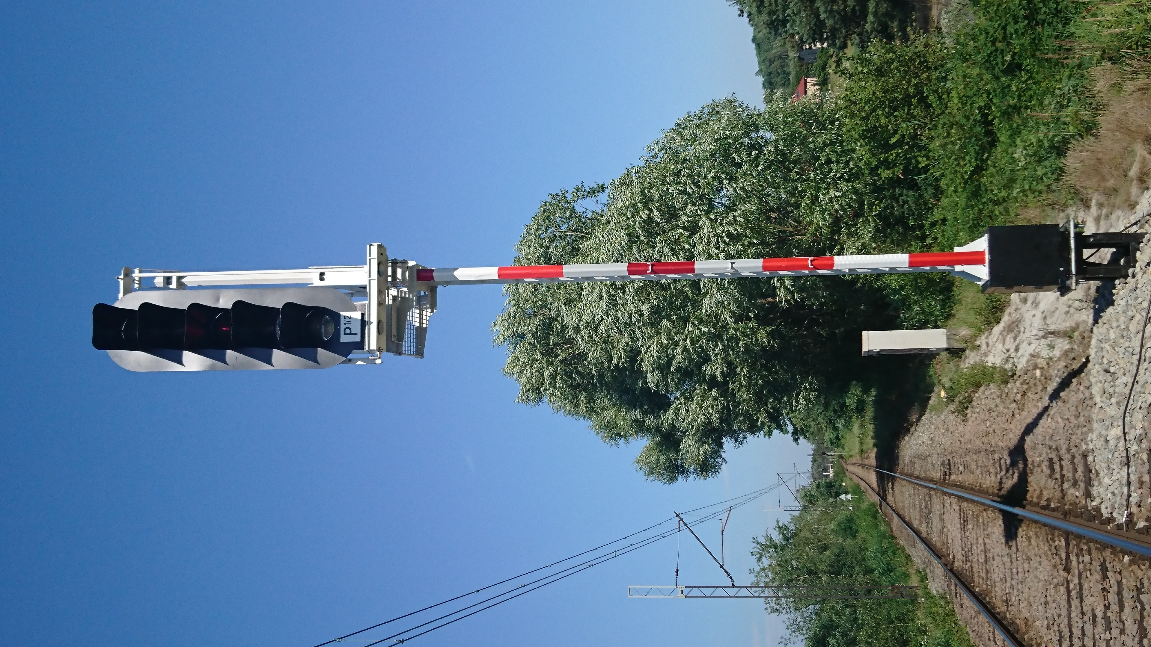The newest generation railway signal by MONAT installed on the next railway line